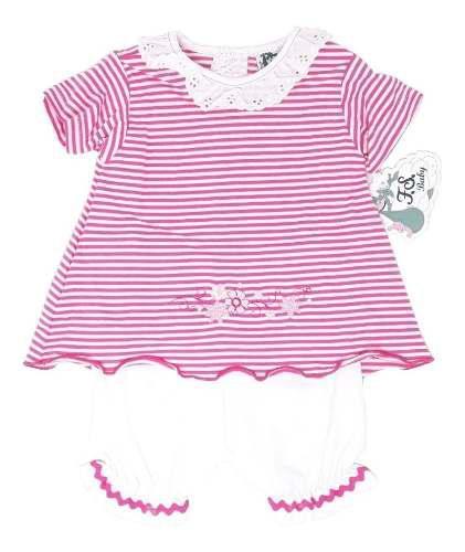 Conjunto ropa para bebe niña fsbaby 2 pza tipo carters
