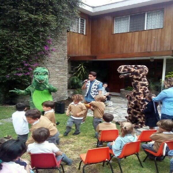 Dinosaurios show infantil cdmx