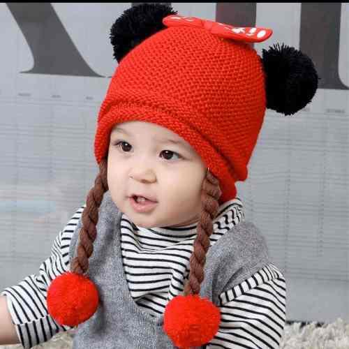 Gorro minnie bebe/niña moda