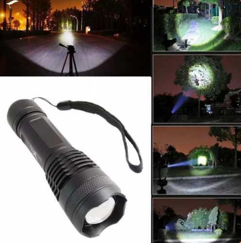 Lampara linterna led xhp70 zoom alta potencia táctica ultra