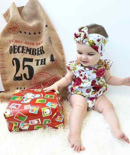 Pañalero rosas rojas hermosa ropita de bebe moda para niña