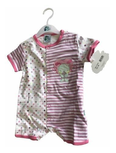 Pañaleros ropa para bebe niña fsbaby tipo carters 11274