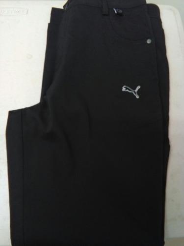 Pantalon puma niño talla 10 color negro