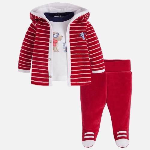Pants 3 piezas bebé mayoral 2637 1-2 meses niño a