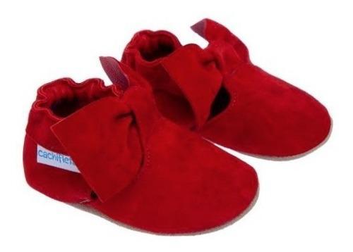 Promo zapatito cachifletas bebé- niña modelo isa rojo