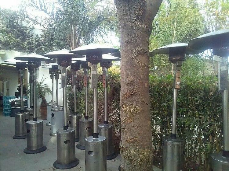 Renta calentadores ambientales para patio puebla