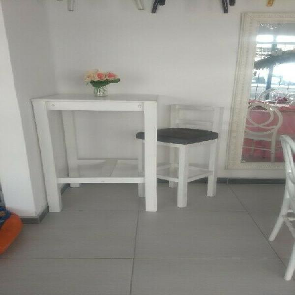 Renta mesas periqueras madera puebla