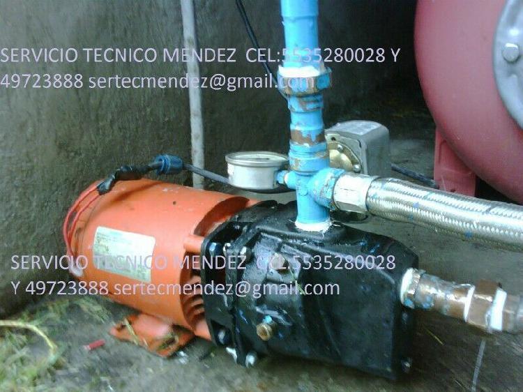 Servicio de reparación y venta de bombas de agua