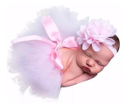 Tutu bebe niña bebita recién nacida sesión foto bonito