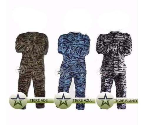 Uniforme militar camuflaje bolsas de cargo uso rudo gotcha