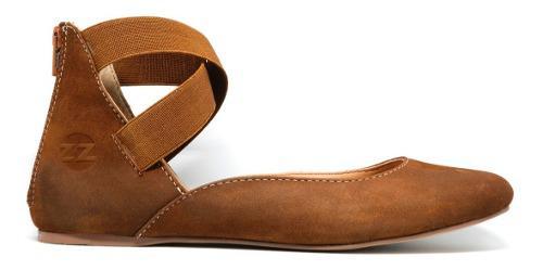 Zapatos niña frenezzo flats spirit 2000 piel avellana