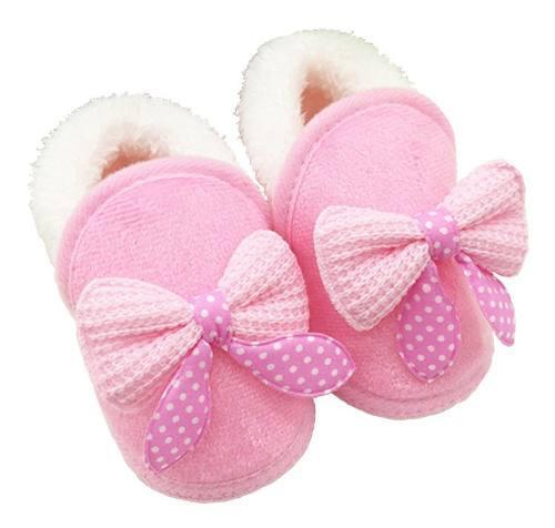 Zapatos para bebe recien nacido moda invierno algodon
