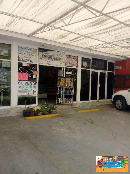 Local comercial en av. principal fracc. hacienda real, tonala