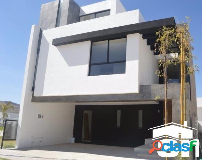Casa en venta parque querétaro lomas de angelopolis sc-1715