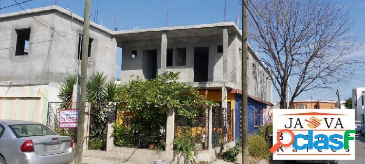 Casa en venta col. iturbide, san nicolas