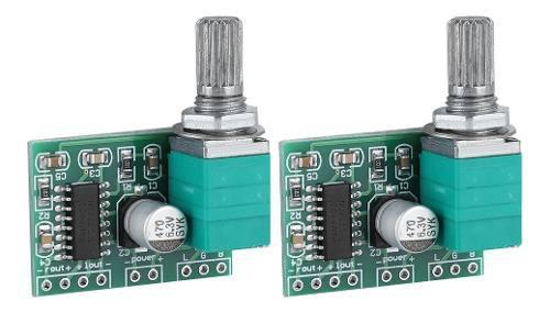 2 unids pam8403 mini 5v amplificador de potencia digital