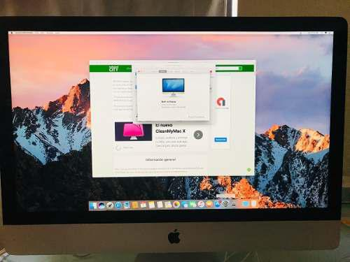 Apple imac 27 core i7 gforce gtx 4gb ddr5 ram 16gb 1tb 2013