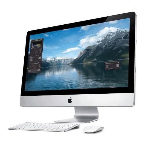 Apple imac core i5 pantalla 27 4 gb 1 tb hhd teclado/negro
