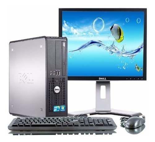 Computadora core2duo 4gb, 320 disco monitor ideal ciber