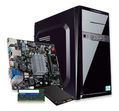 Computadora cpu pc de escritorio dual core 4gb 120gb ssd