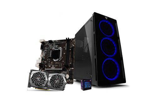 Computadora pc cpu gamer intel i3 8gb ssd 240gb gtx 1650 80+