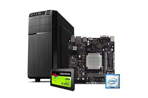 Computadora pc cpu intel dual core ssd 120gb hdmi ram 2gb
