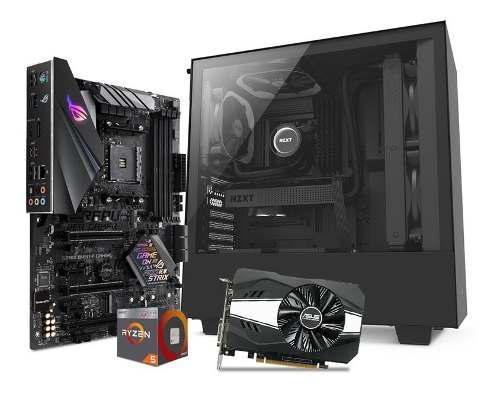 Computadora pc gamer amd ryzen 5 gtx 1060 6gb 1tb 8gb 80+