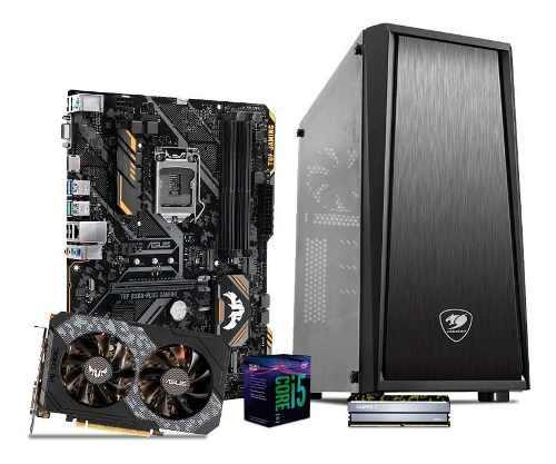 Computadora pc gamer gtx 1650 4gb core i5 1tb 8gb 80+ tuf