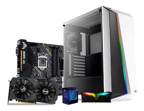 Computadora pc gamer gtx 1650 intel core i3 1tb 8gb ddr4 80+