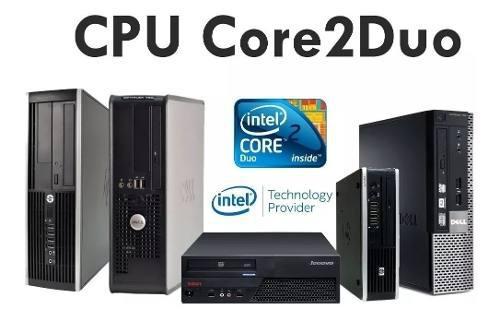 Cpu core 2 duo 4gb ram ddr3 320 gb hdd! ciber cafe