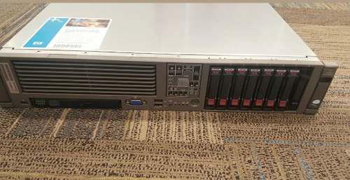 SERVIDOR DE RACK HP PROLIANT DL380 G5 2X XEON E5430 38GB RAM, usado segunda mano  México (Todas las ciudades)