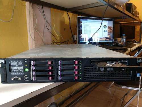 Servidor hp proliant dl380 g7 2x quad core e5630 2.53 24gb