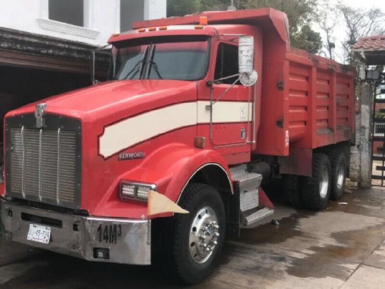 Venta de camión volteó 14m3 (gondula) kenworth t800 en muy