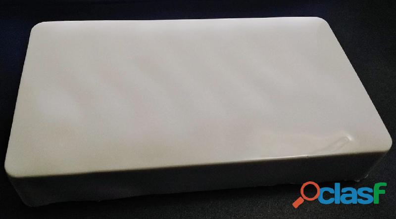 Barra base jabón glicerina básica 1kg extra blanca bloque.