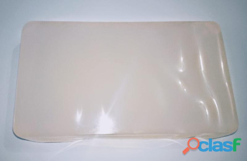 Barra base jabón glicerina básica 1kg transparente bloque