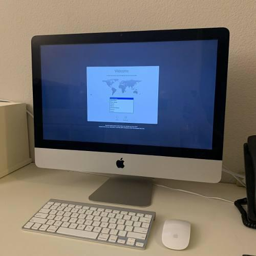 iMac 21.5 Mid 2011 / Intel Core I5 / 12 Gb Ram / 2.5 Ghz