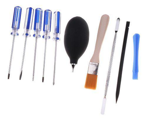 Desmontando kit de herramientas accesorios de videojuegos
