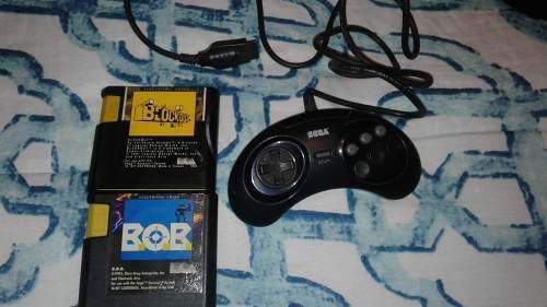 Juegos De Sega Genesis Y Control.