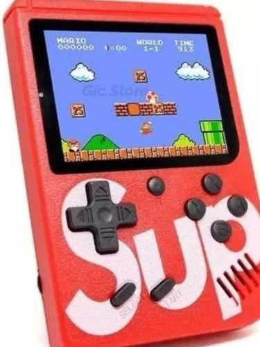 Mini consola portátil sup game box 400 juegos en 1