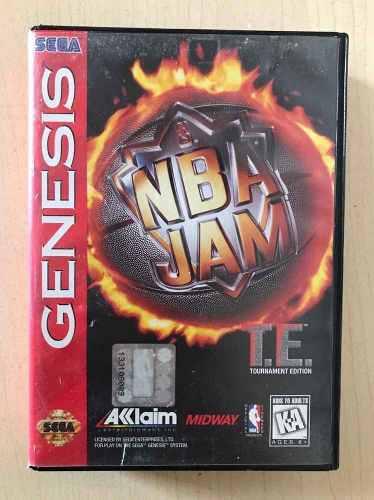Nba Jam - Juego Para Sega Genesis Completo