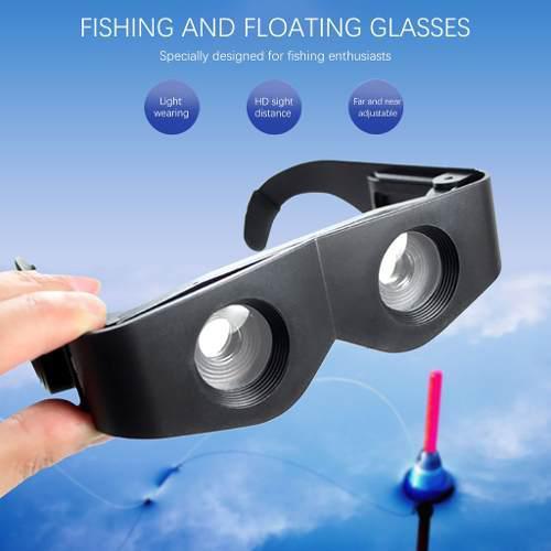 Pesca prismáticos lupa portátil ajustable al aire libre