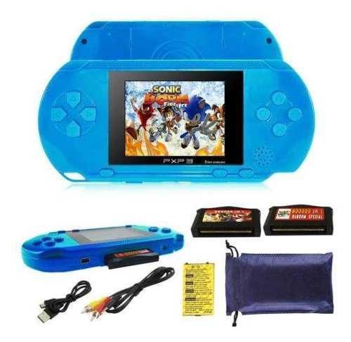 Pxp3 portátil de mano incorporada consola de videojuegos re