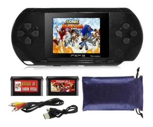 Pxp3 portátil de mano integrado de videojuegos consola de v