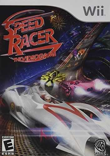 Speed ??racer el videojuego nintendo wii