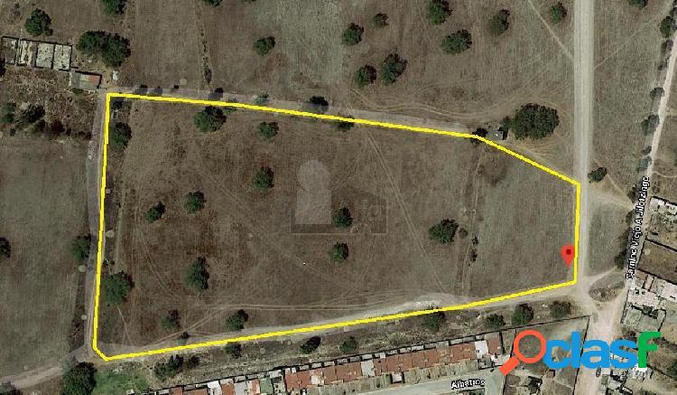 Terreno en venta terreno en venta en zumpango en barrio de santiago, terreno en venta 125000m2