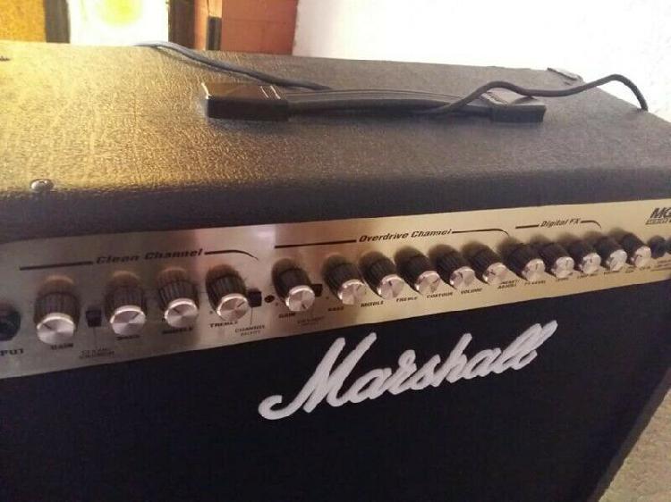 Amplificador marshall dfx 100 w- $ 3,800