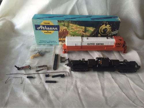 Athearn illinois central 5004 locomotora ho scale