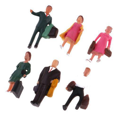 Figura de persona para modelismo layout diorama diseño (6