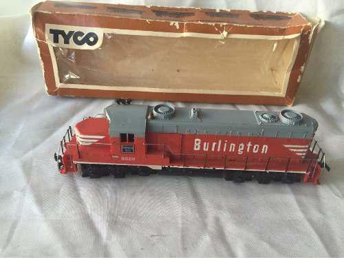 Tyco burlington 5628 locomotora ho scale
