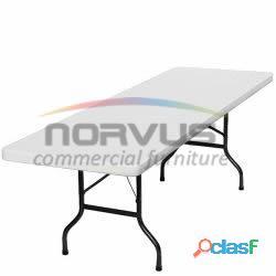 Invierte en mesas de plastico plegables